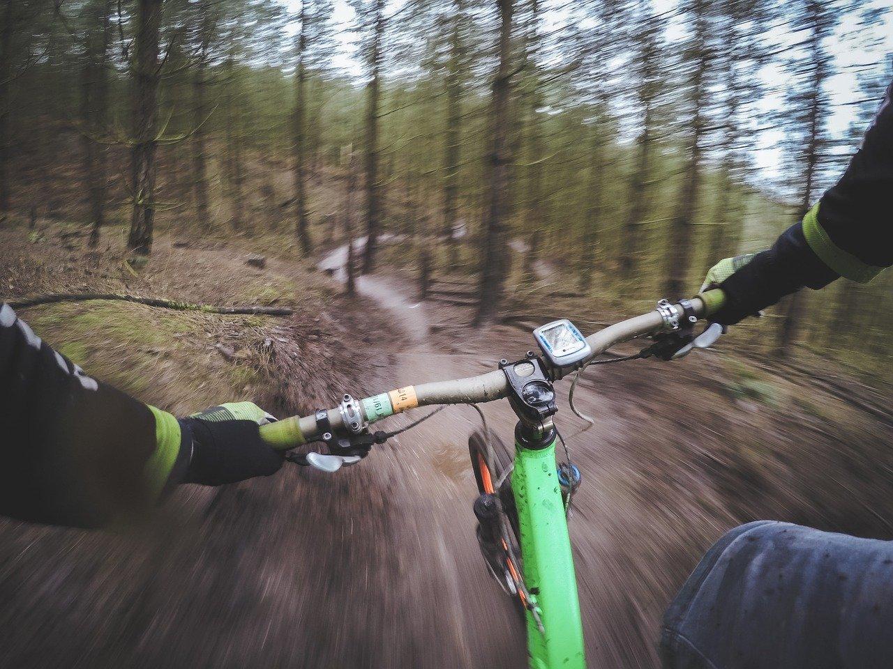 mountain biking, cycling, mountain bike